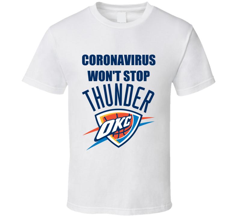 Ccoronavirus Covid Oklahoma City Basketball T Shirt