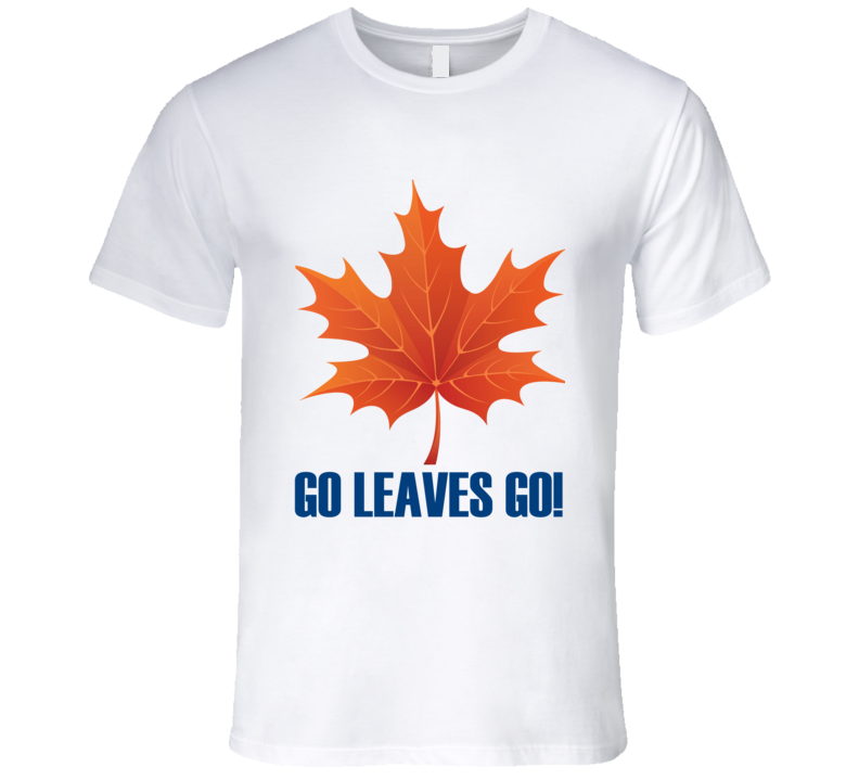 Toronto Maple Leaves Go Funny Hockey T Shirt