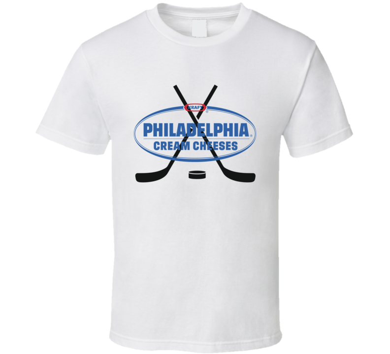 Piladelphia Cream Cheeses Sports Hockey Team Jersey T Shirt