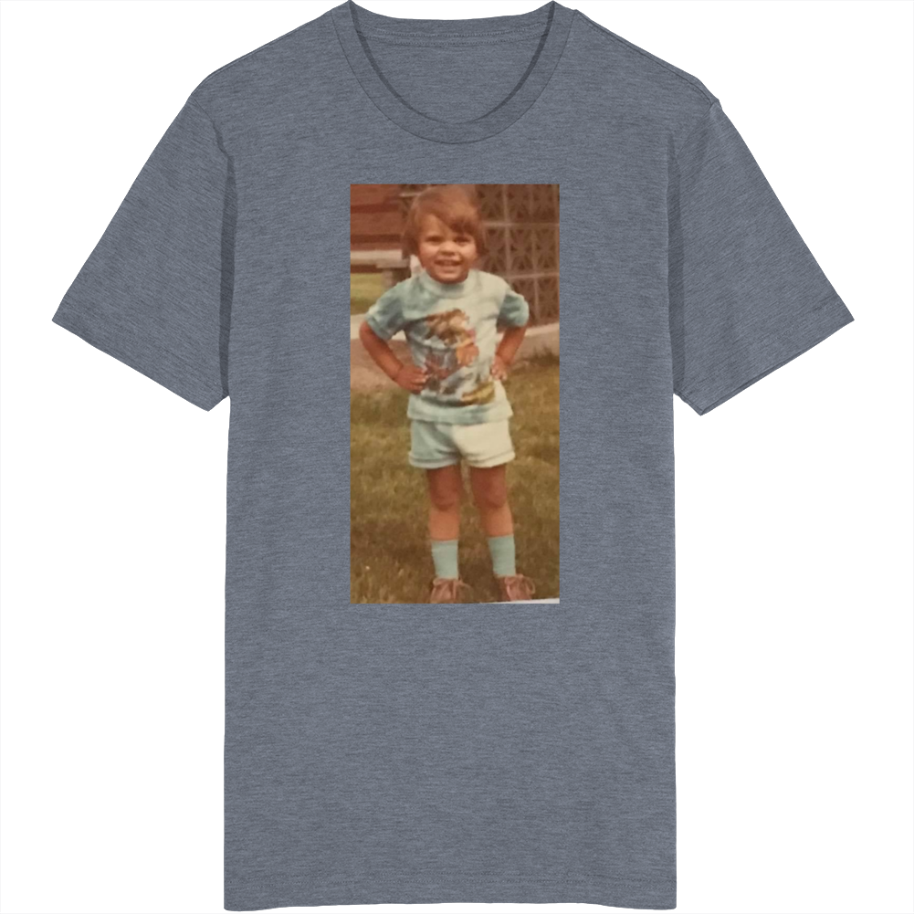 Denny Cute Little Baby High Socks T Shirt