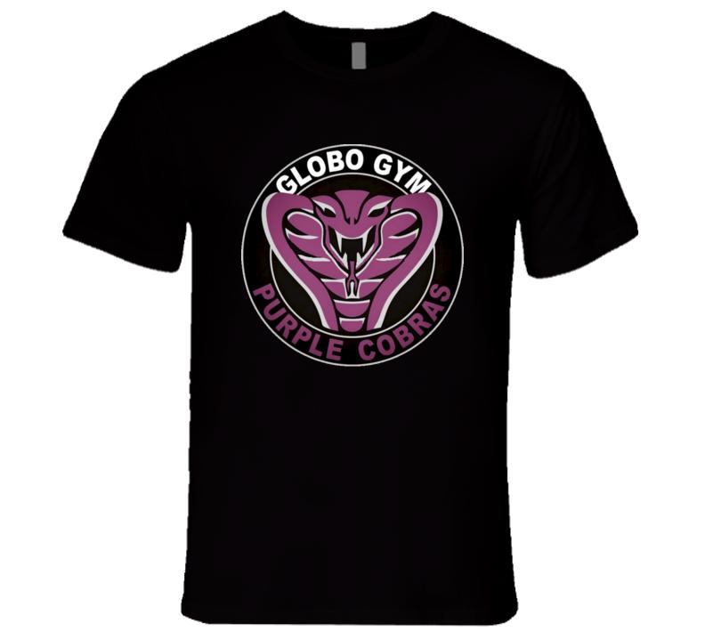 Globo Gym Purple Cobras Dodgeball Jersey T Shirt