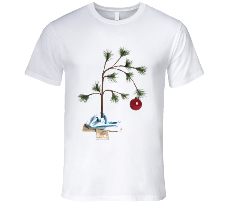 Charie Brown Christmas Tree T Shirt