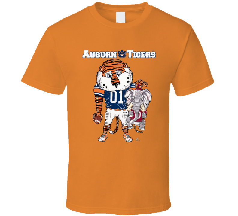 Auburn Tigers Vs Alabama Funny Football T Shirt