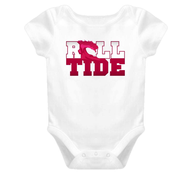 Roll Tide Baby Alabama Football T Shirt