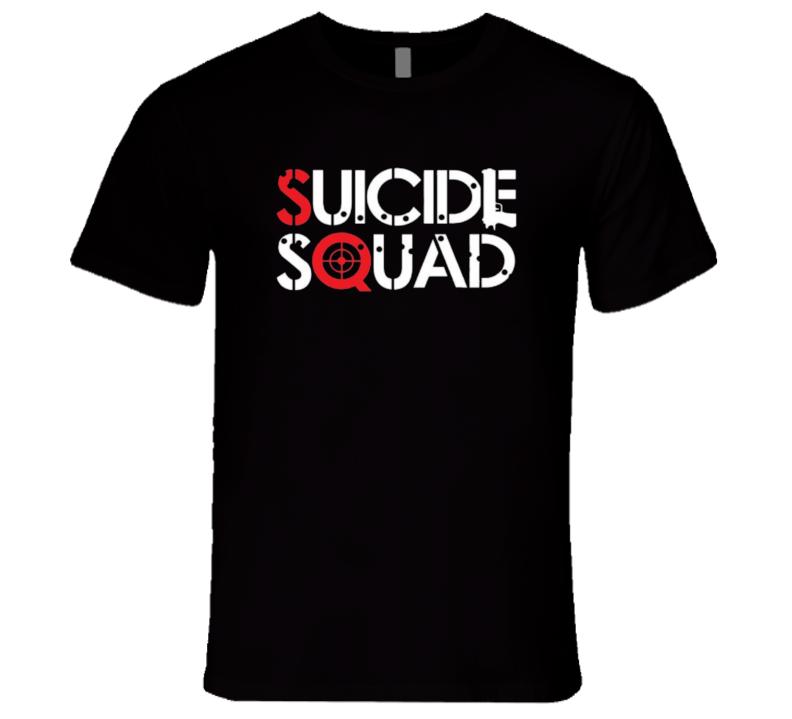 Suicide Squad Logo T Shirt
