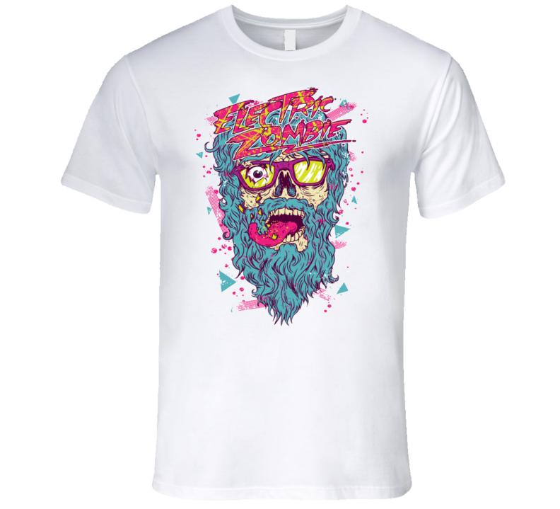 Bright Cool Wild Zombie T Shirt