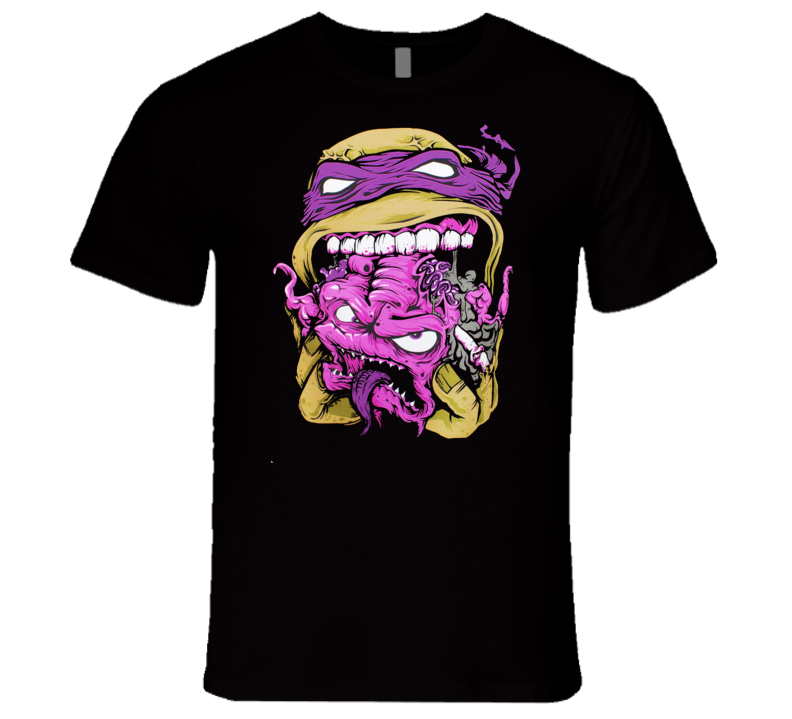 Zombie Ninja Turtle T Shirt