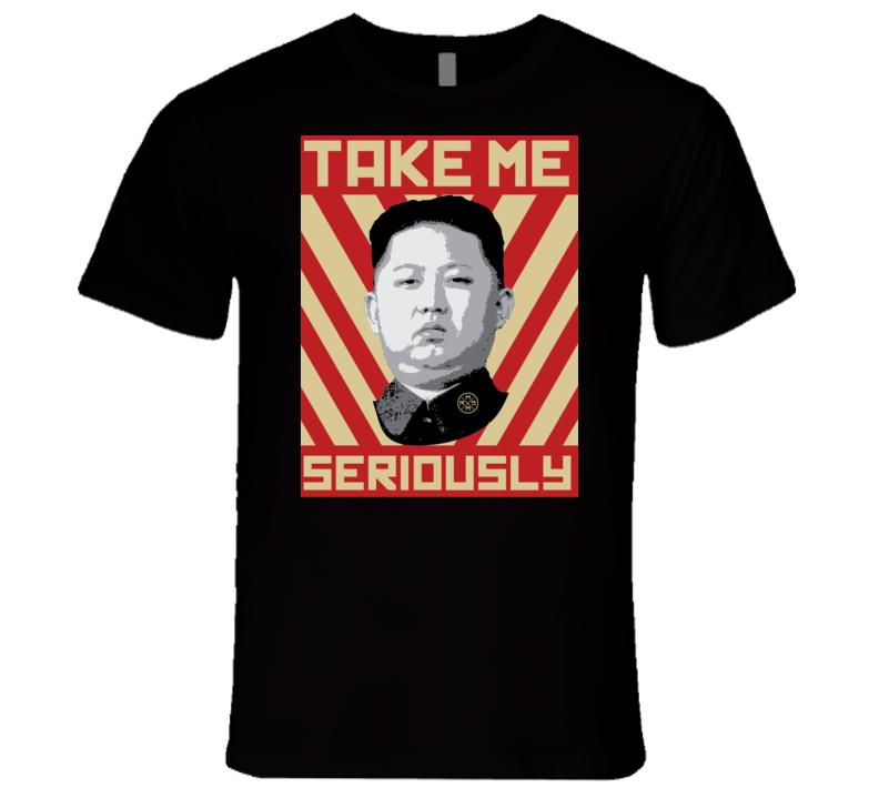 Kim Jong Un North Korea Funny T Shirt