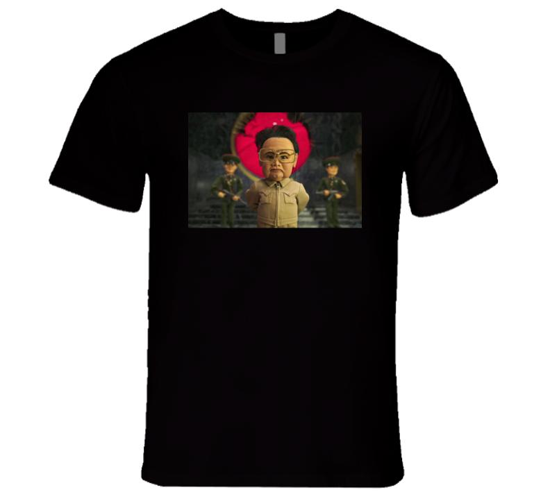 Kim Jong Il World police T Shirt