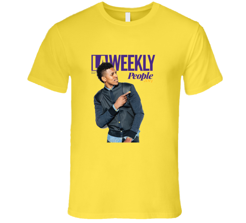 Swaggy P Basketball LA Lakers T Shirt