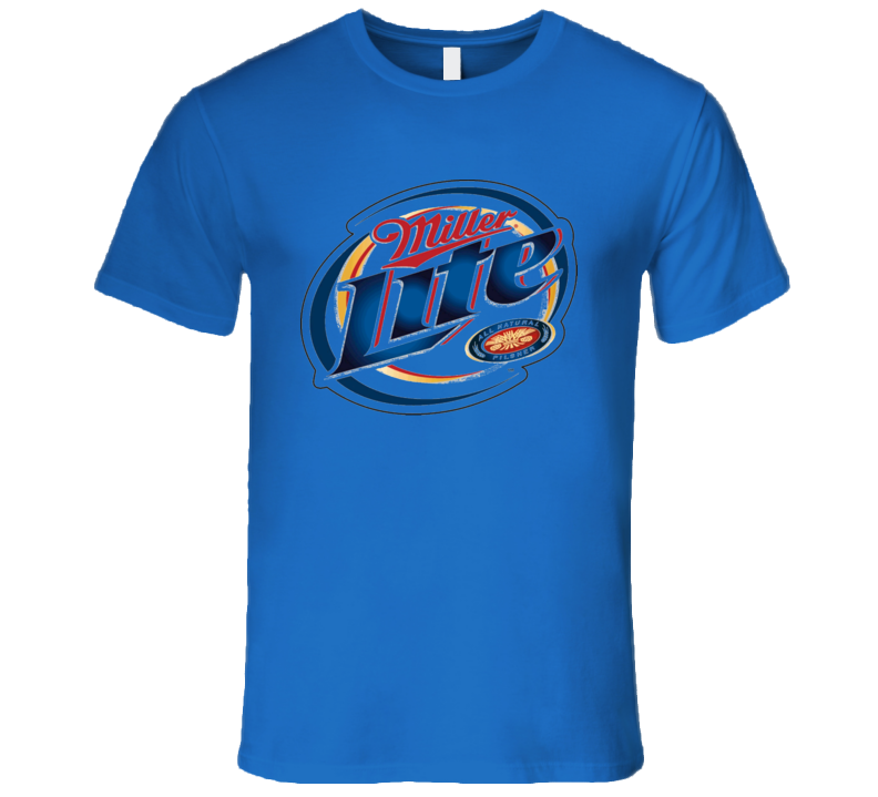 Miller Lite Beer MGD T Shirt