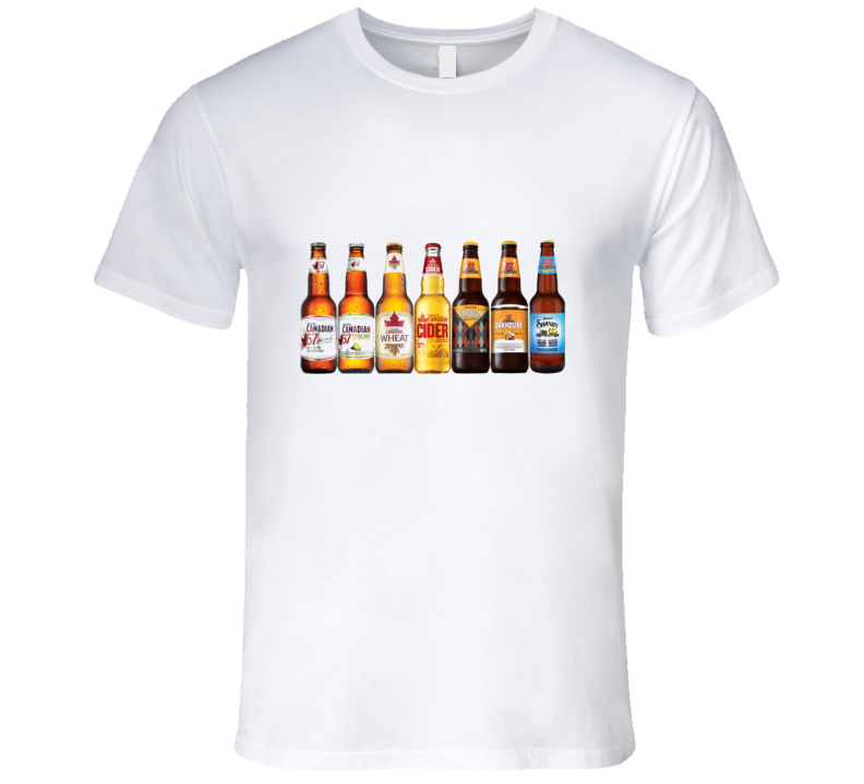 Canadian Beer T Shirt