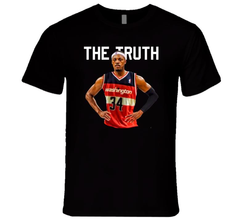 #2 Paul Pierce The Truth Washington Basketball Fan T Shirt