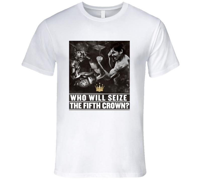 Floyd Mayweather Vs Paccquiao Boxing Fight T Shirt