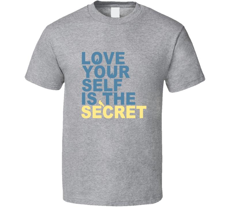 Love Your Self Is The Secret Lenny Kravitz Sport Grey T Shirt
