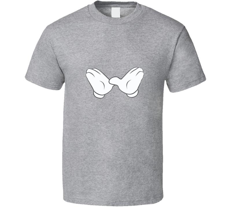 Wutang Hands Sport Grey T Shirt