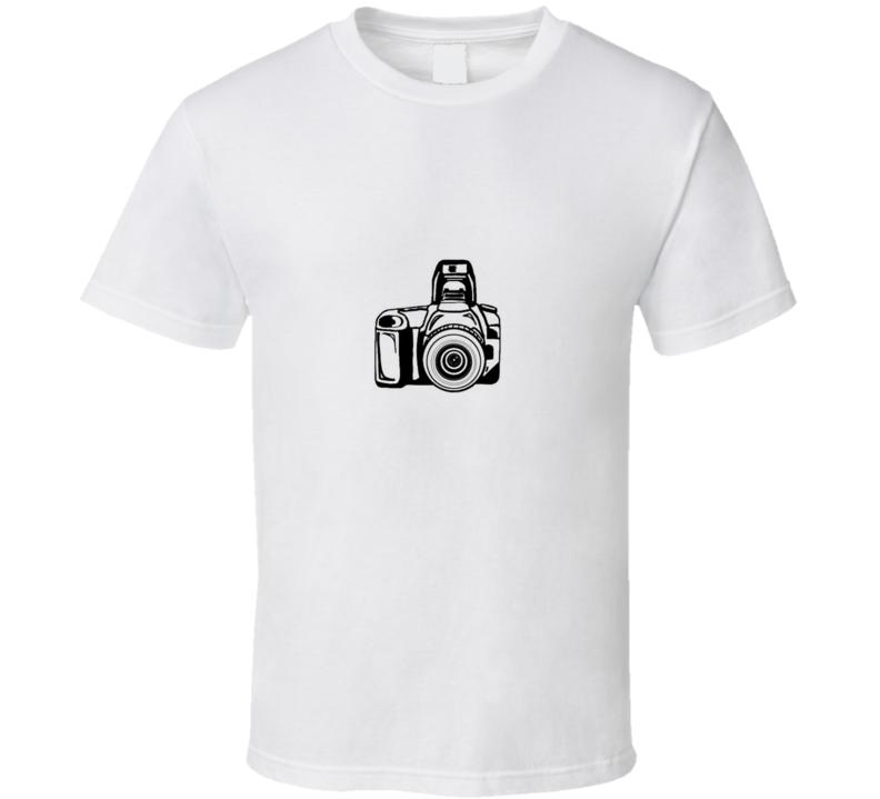 Camera Photography Black TShirt
