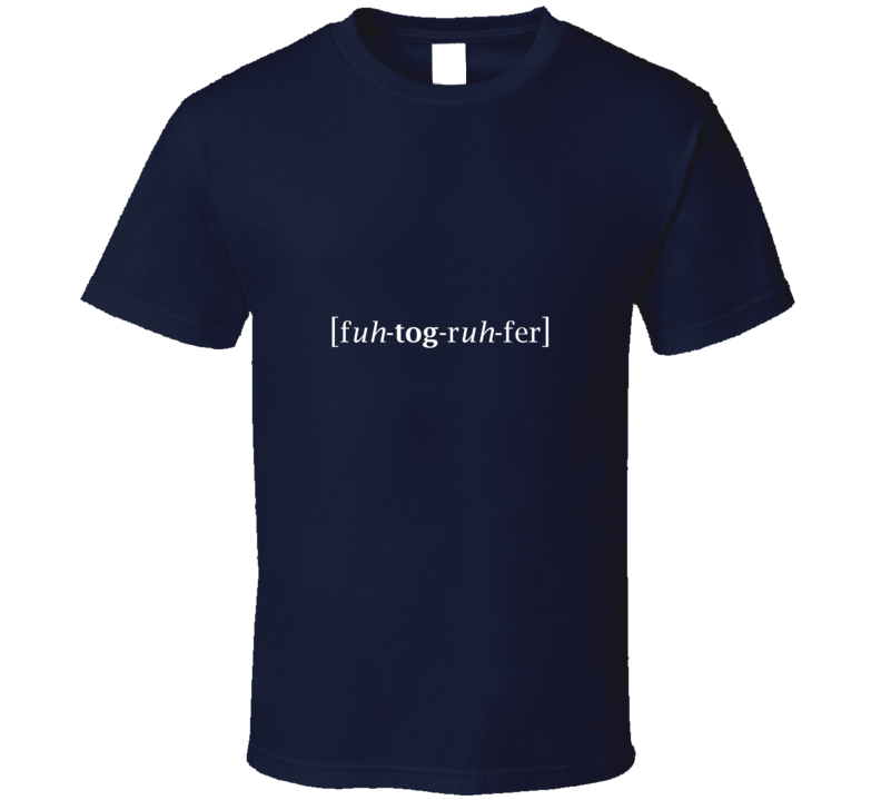 Photographer TShirt Navy