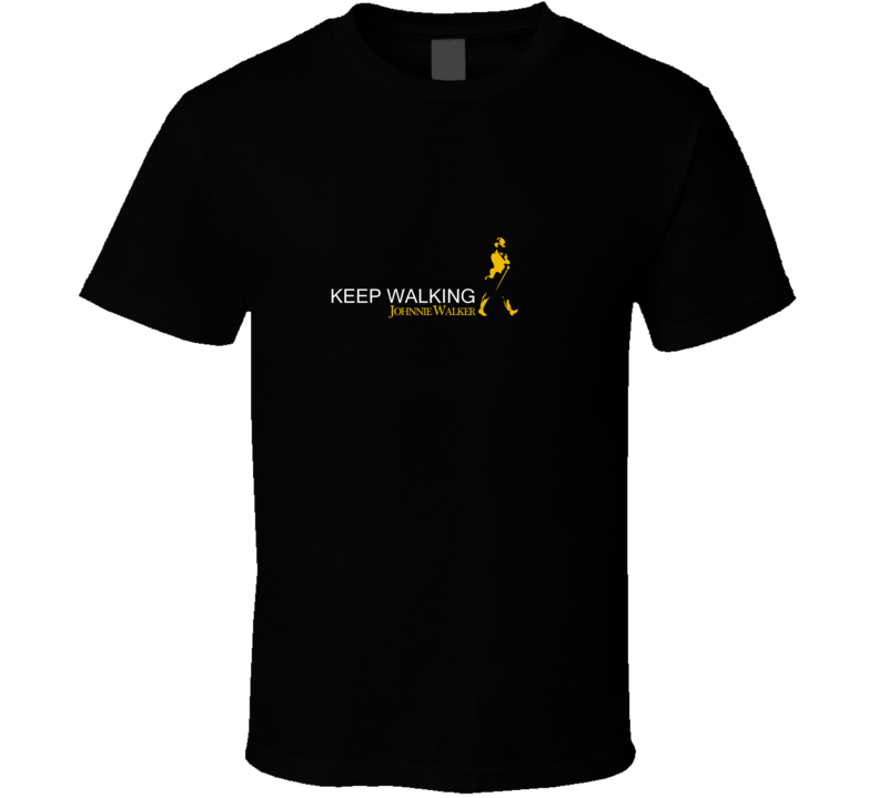 Johnnie Walker Walking Man T Shirt