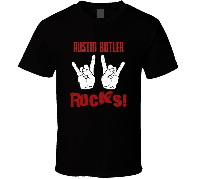 Austin Butler  ROCKS T shirt