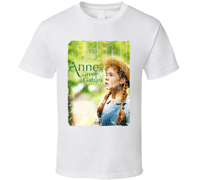 Anne Of Green Gables Movie Poster Retro Aged Look T Shirt