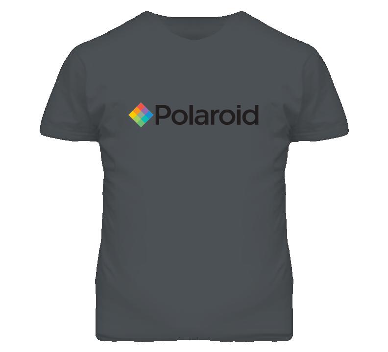 Polaroid Camera Geek T Shirt