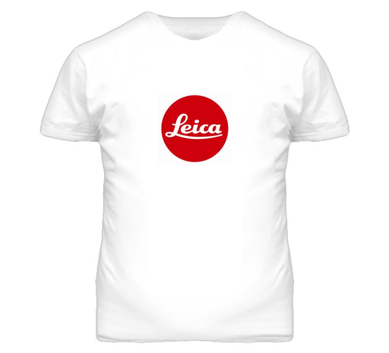 Camera Geek Leica T Shirt