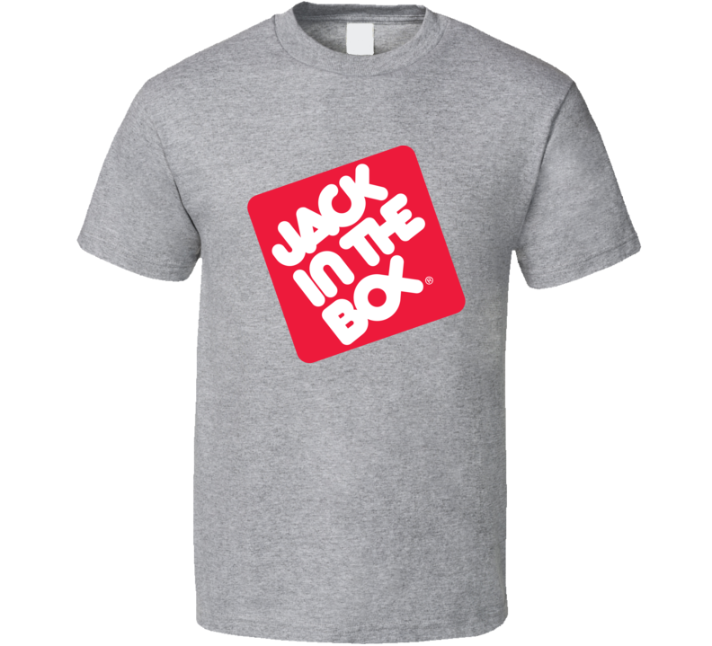 Jack In The Box Fast Food Logo Gift Cool T Shirt
