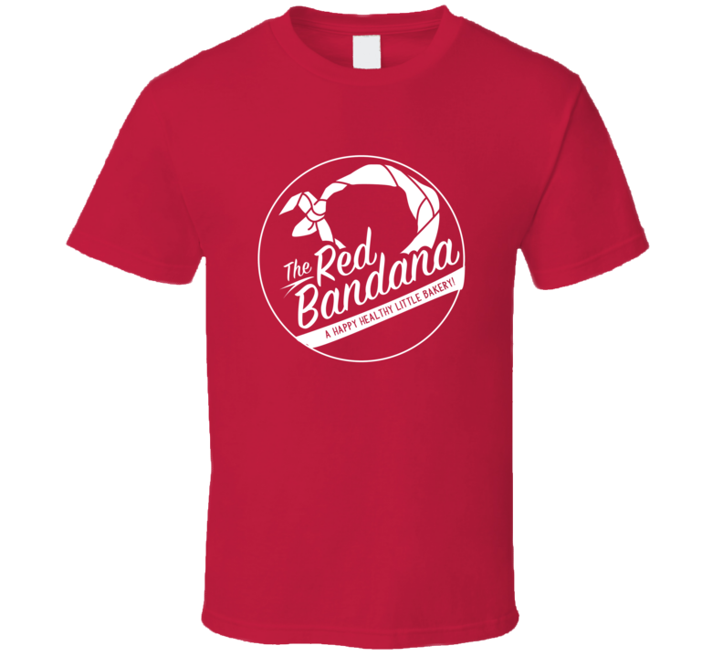The Red Bandana Logo Alcohol Gift Cool T Shirt