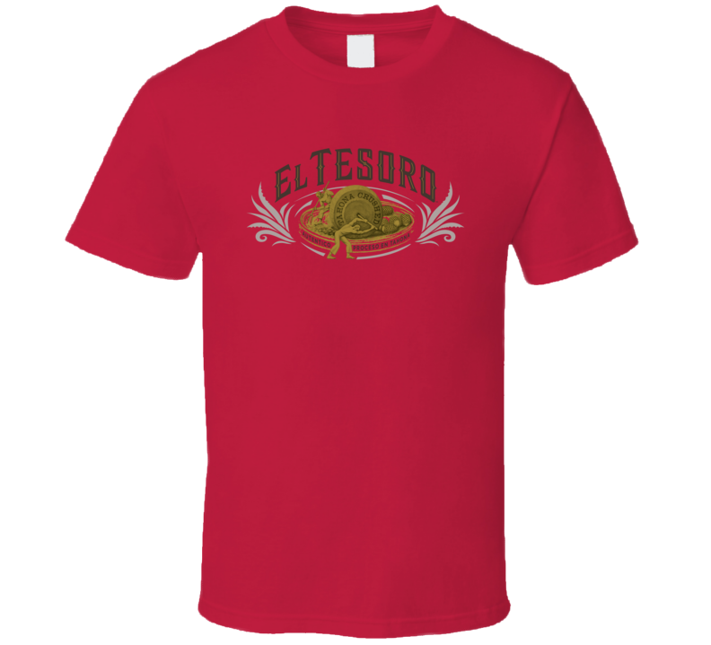 El Tesoro Liquor Logo Alcohol Drinking Gift Cool T Shirt