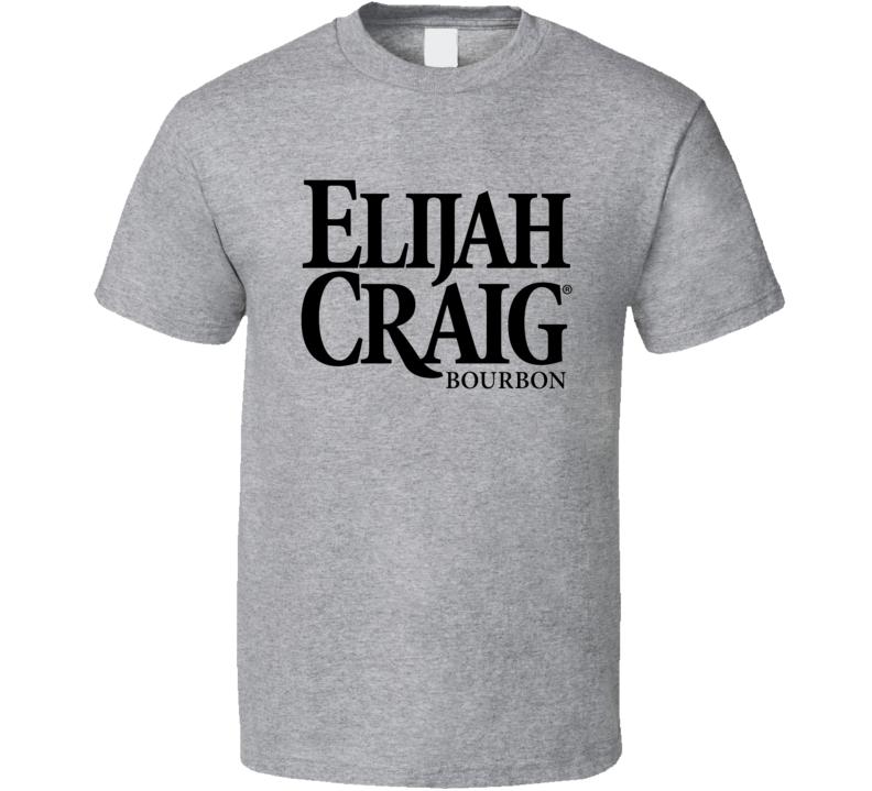 Elijah Craig Bourbon Logo Alcohol Drinking Gift T Shirt
