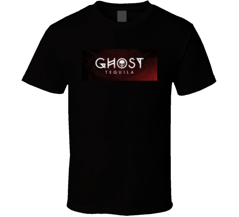 Ghost Tequila Logo Alcohol Drinking Gift Cool T Shirt