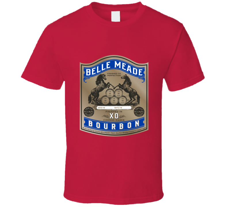 Belle Meade Bourbon Logo Alcohol Drinking Gift Cool T Shirt
