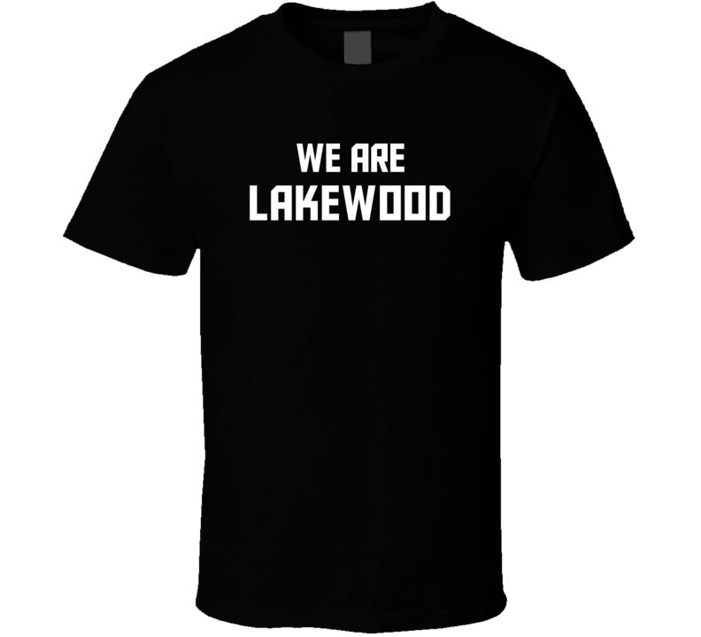 We Are Lakewood Colorado Pride Usa State T Shirt