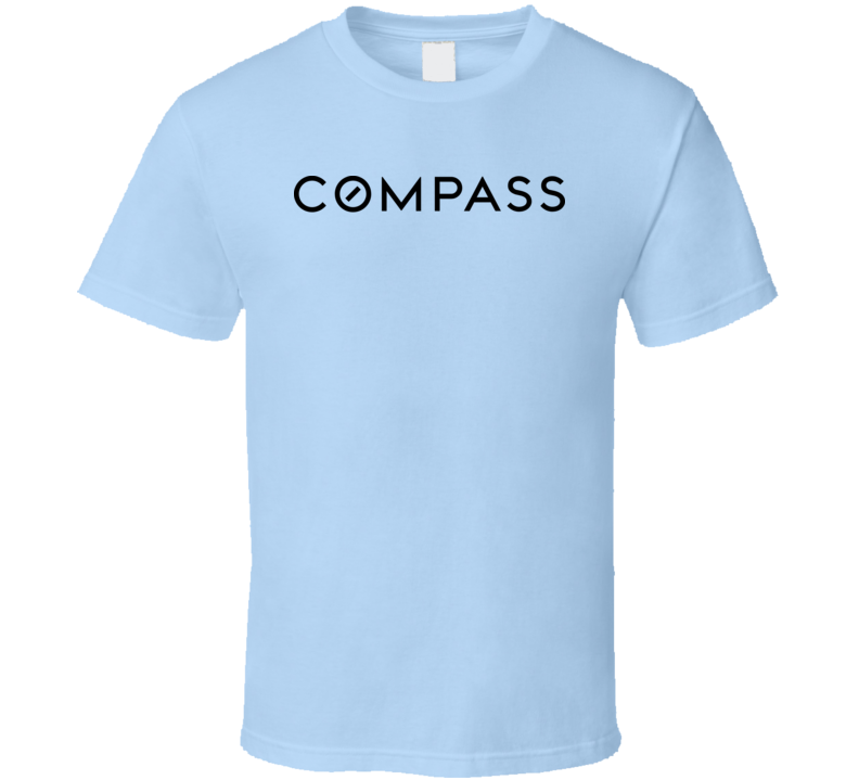 Compass Real Estate Logo Usa Real Estate Agencies T Shirt
