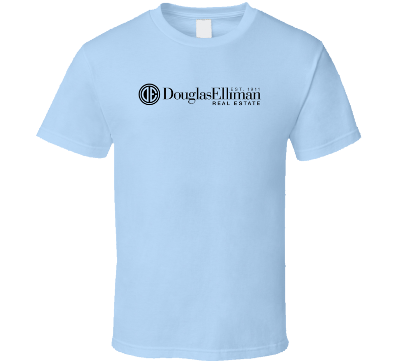 Douglas Elliman Real Estate Logo Usa Real Estate Agencies T Shirt