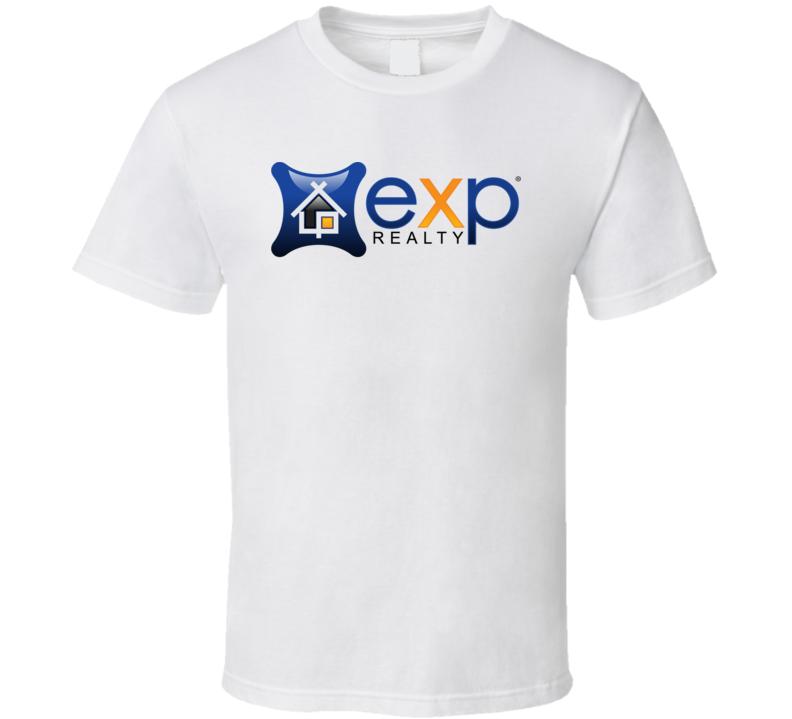 Exp Realty Logo Usa Real Estate Agencies T Shirt