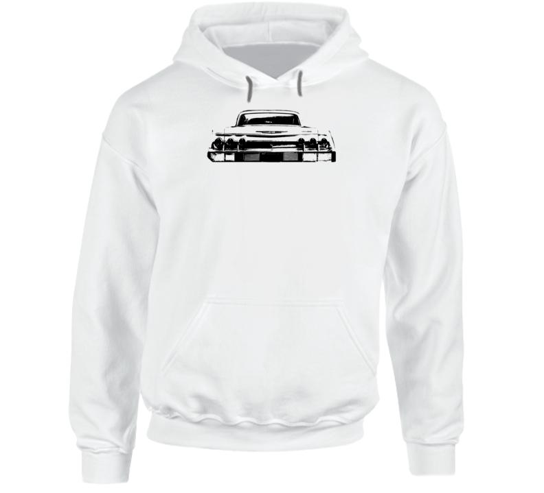 1962 Impala Rear View Super Comfy Light Color Hoodie