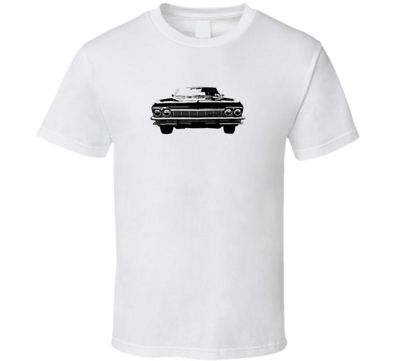 1965 Impala Grill View Super Comfy High Quality Light Color T Shirt