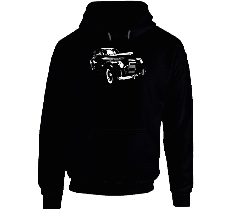 1941 Deluxe Three Quarter Angle View Super Comfy Dark Color Hoodie