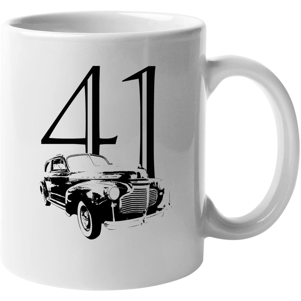 1941 Deluxe Three Quarter Angle View With Year White Coffee Mug Mug