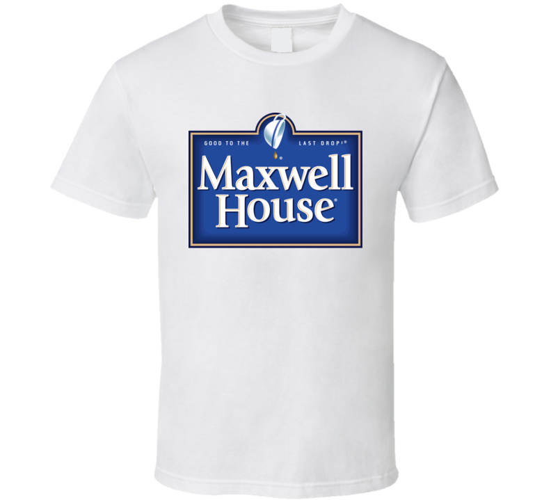 Maxwell House Coffee Logo T Shirt