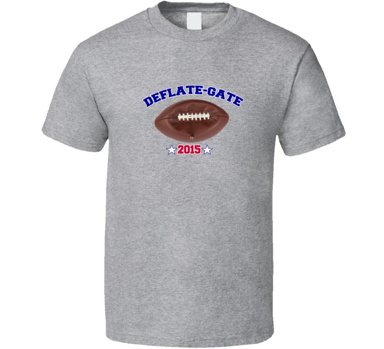 Deflate Gate Football T Shirt