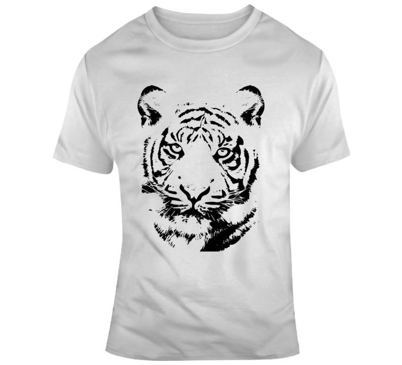 Tiger King_White Animal Boss Entrepreneur Nurse Teacher Inspirational Motivational Pop Culture Hustle World Global Gift Pandemic Coronavirus COVID-19 TShirt
