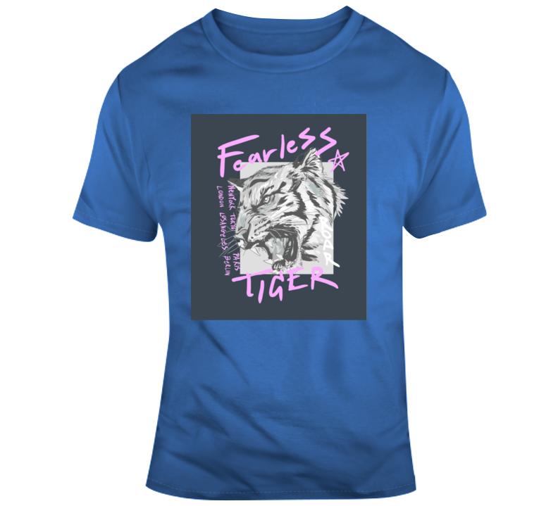Tiger King_Fearless Animal Boss Entrepreneur Nurse Teacher Inspirational Motivational Pop Culture Hustle World Global Gift Pandemic Coronavirus Covid-19 TShirt