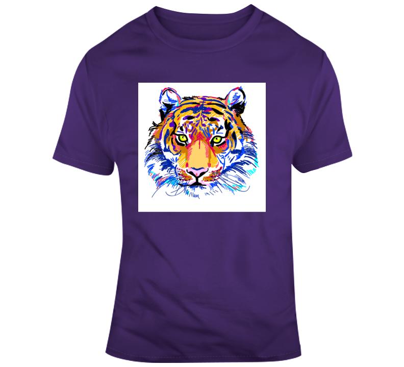 Tiger King_Color 2 Animal Boss Entrepreneur Nurse Teacher Inspirational Motivational Pop Culture Hustle World Global Gift Pandemic Coronavirus Covid-19 TShirt