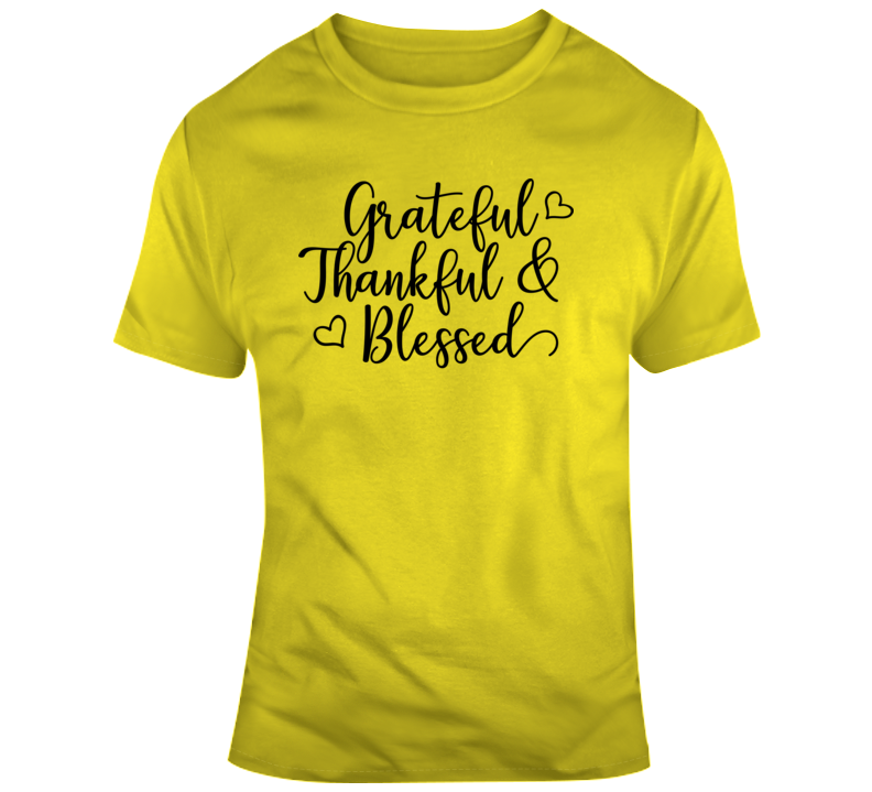 Grateful Thankful Blessed Boss Entrepreneur Nurse Teacher God Jesus Inspirational Motivational Pop Culture Hustle World Global Gift Pandemic Coronavirus Covid-19 TShirt