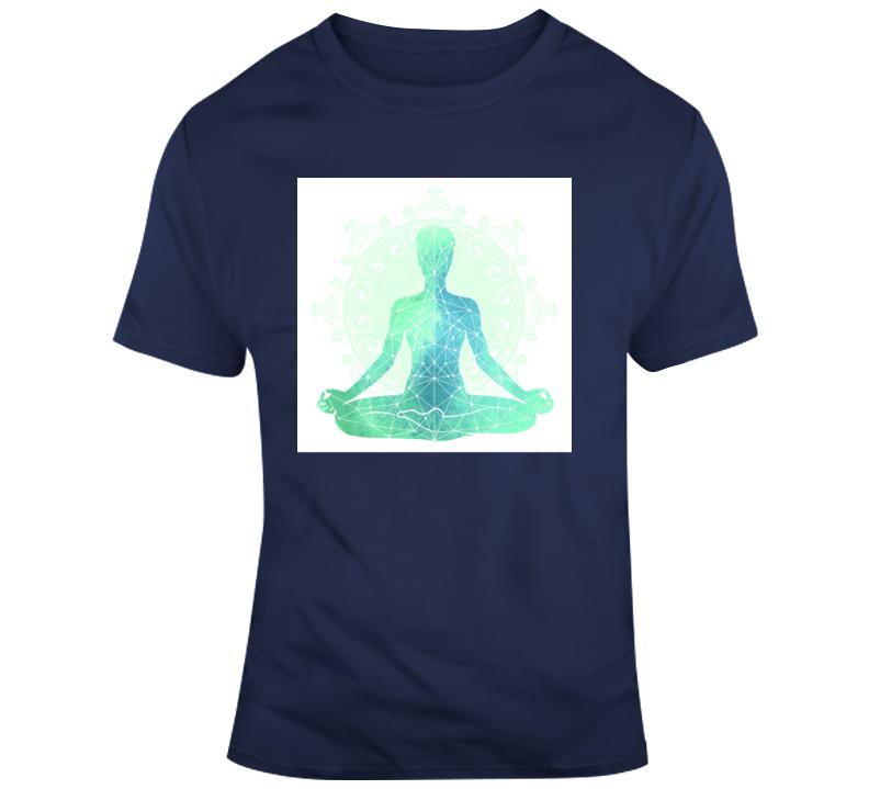 Chakra 3 Yoga Fitness Meditate Boss Entrepreneur Nurse Teacher Inspirational Motivational Pop Culture Hustle World Global Gift Pandemic Coronavirus Covid-19 TShirt