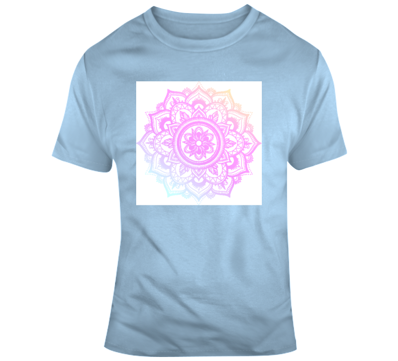 Mandala 1 Yoga Fitness Meditate Boss Entrepreneur Nurse Teacher Inspirational Motivational Pop Culture Hustle World Global Gift Pandemic Coronavirus Covid-19 TShirt