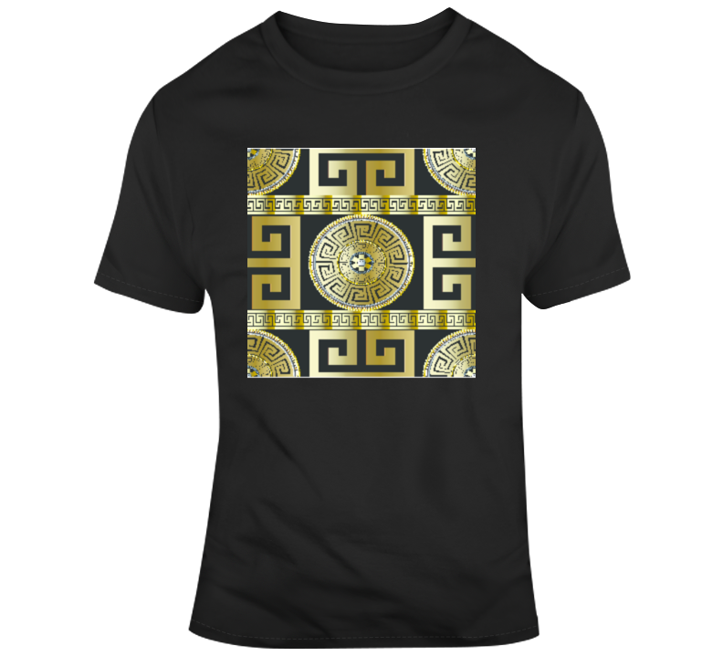 Mandala_Gold Yoga Fitness Meditate Boss Entrepreneur Nurse Teacher Inspirational Motivational Pop Culture Hustle World Global Gift Pandemic Coronavirus Covid-19 TShirt